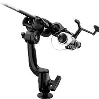 RAM-ROD™ 2000 Fishing Rod Holder with  Round Flat Surface Base