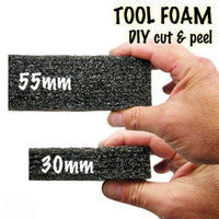 Tool foam 55mm, 420x600mm ark