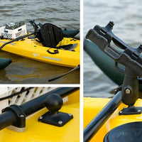 RAM-ROD™ 2007 Fly Rod Jr. Fishing Rod Holder with Flat Surface Rectangle Base