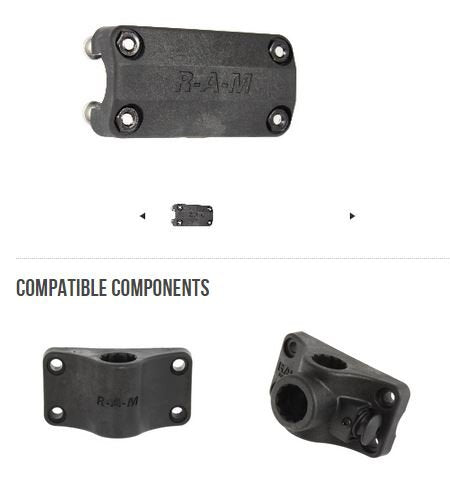 RAM-ROD™ Rail Mount Adapter Kit