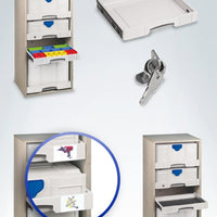 Drawer SYS-AZ set om 5