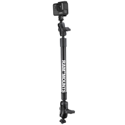 22 Inch Tough-Pole Camera Mount with Track Ball Base