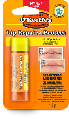 O KEEFFES LIP REPAIR & PROTECT - SPF15 4,2G