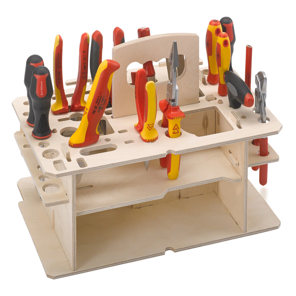 Wooden insert for hand tools M