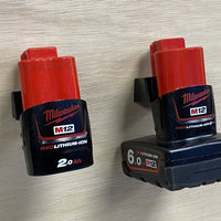 StealthMounts Battery Mounts for Milwaukee M12 (6 Pack)