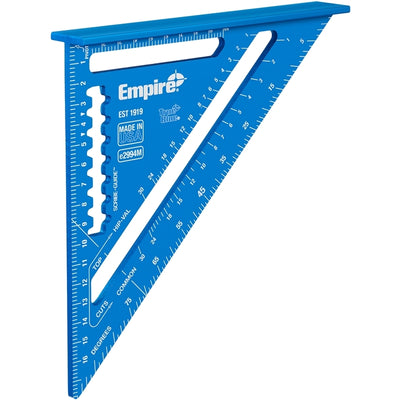 Empire 2994M TrueBlue 180 mm Hi-Vis  speed square vinkelhake