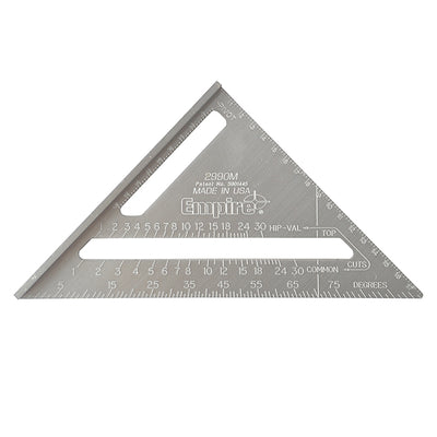 Speed square 170mm Empire i aluminium