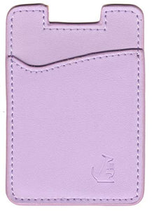 Lavender Leather - Phone Wallet