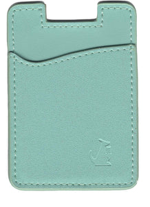 Spearmint Leather - Phone Wallet