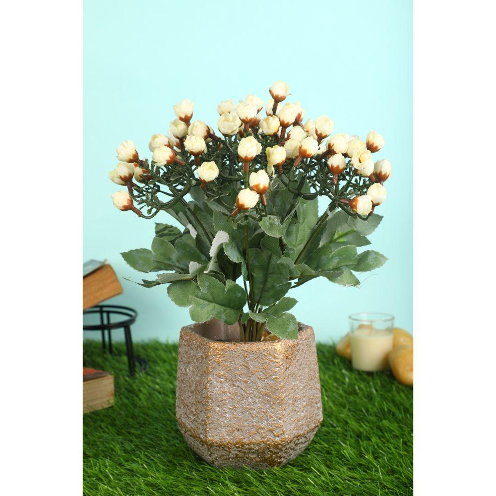 Artificial Flower Bunch for Home Decor ( inch, Pack of 2) - Artificial Flowers & Plants - PolliNation