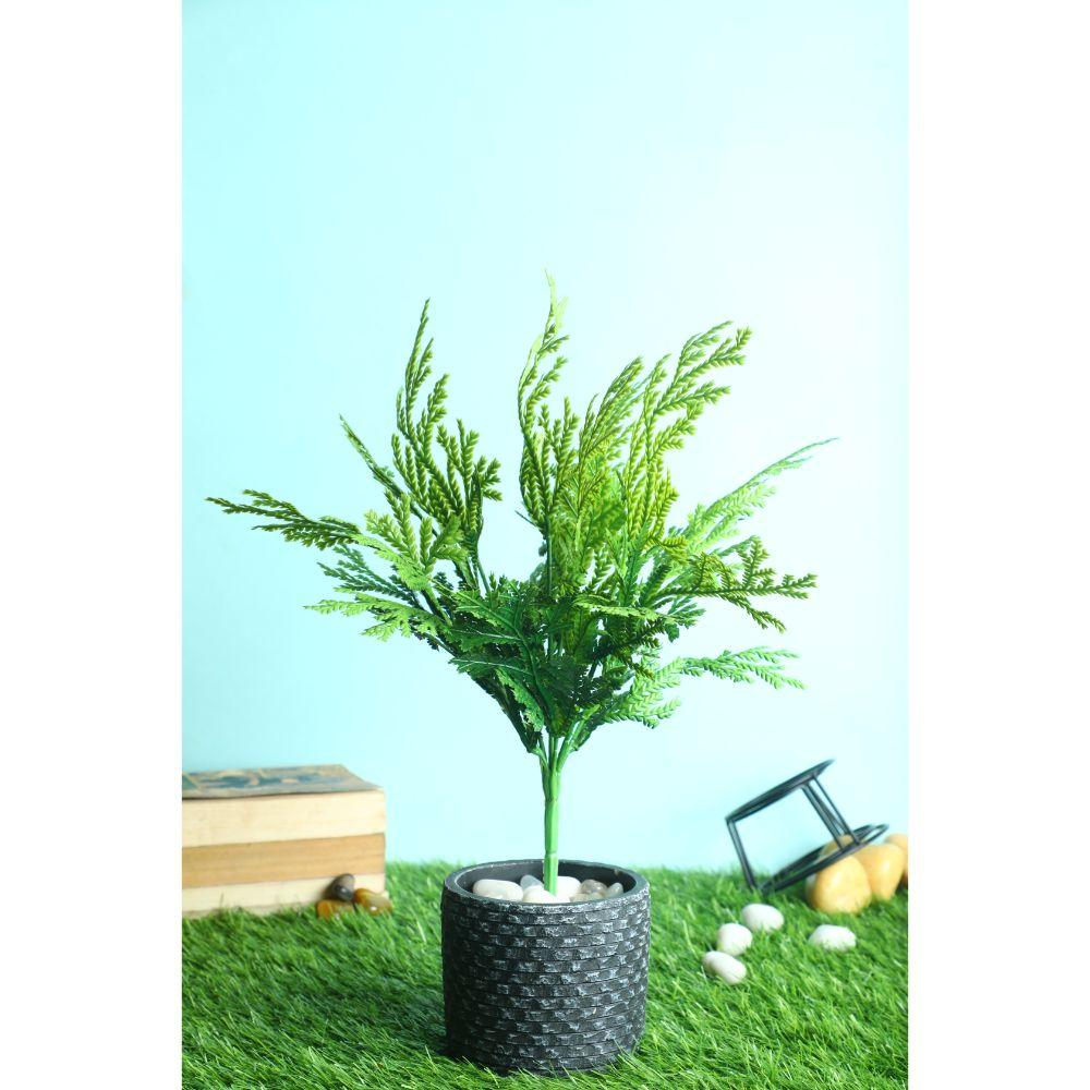 Pollination Artificial Grey Bunch Without Pot for Home Decoration (Pack of 1) - Artificial Flowers & Plants - PolliNation