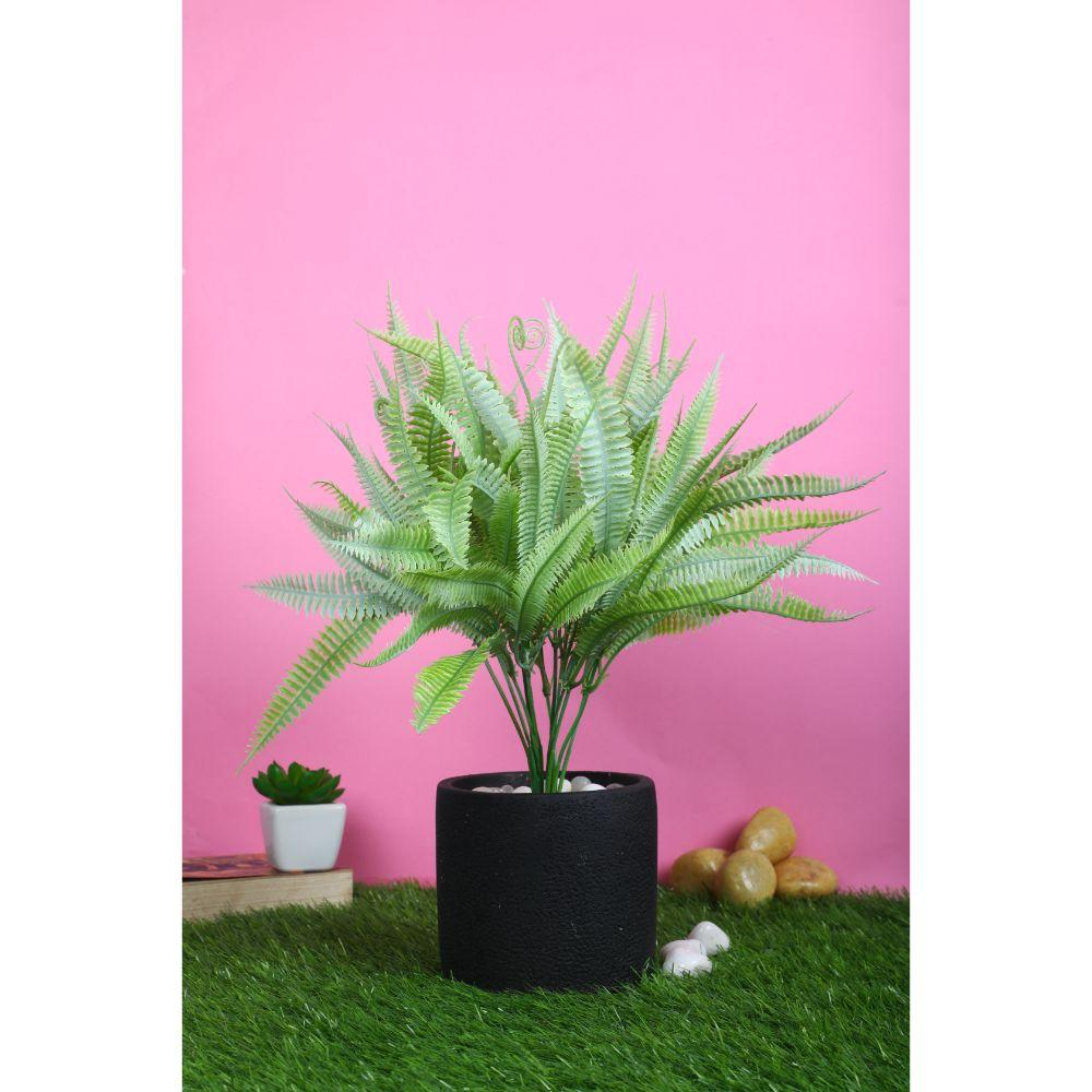Pollination Attractive Artificial Brown Ferns Bunch  without Pot for Home Decor (Pack of 2) - Artificial Flowers & Plants - PolliNation