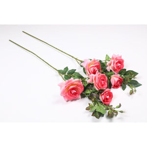 Pollination Exquisite Peach Rose Artificial Flower