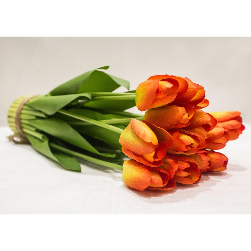 Artificial Flower Tulips (42 inch, Pack of 3)