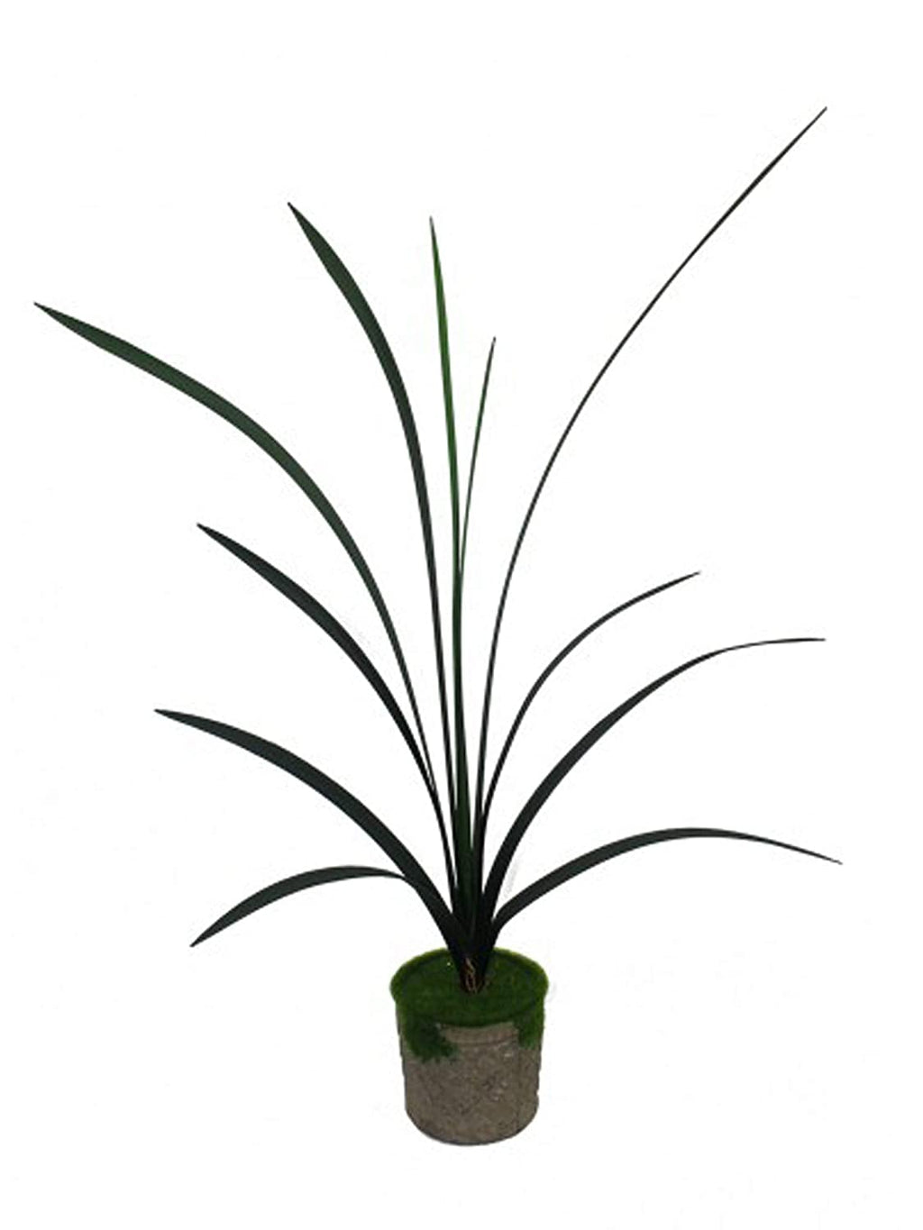 PolliNation Artificial Large Bush Lily Plant (Pack of 1, L 75 cm x H 90 cm) - Artificial Flowers & Plants - PolliNation