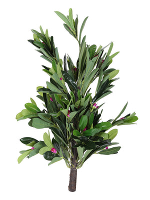Artificial Green Plant Without Pot ( L 45 cm X H 70 cm ) - Artificial Flowers & Plants - PolliNation