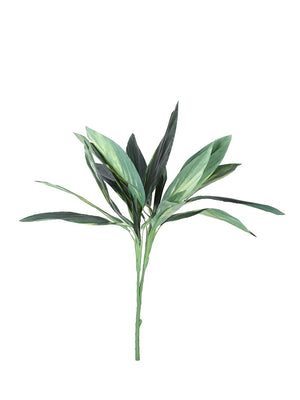 Pollination Real look  Stunning Green Dracaena Artificial Plant Without Pot (L 55 cm x H 60 cm) - Artificial Flowers & Plants - PolliNation