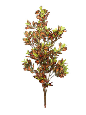 Artificial Multi Croton Plant Without Pot ( L 90 cm X H 150 cm )
