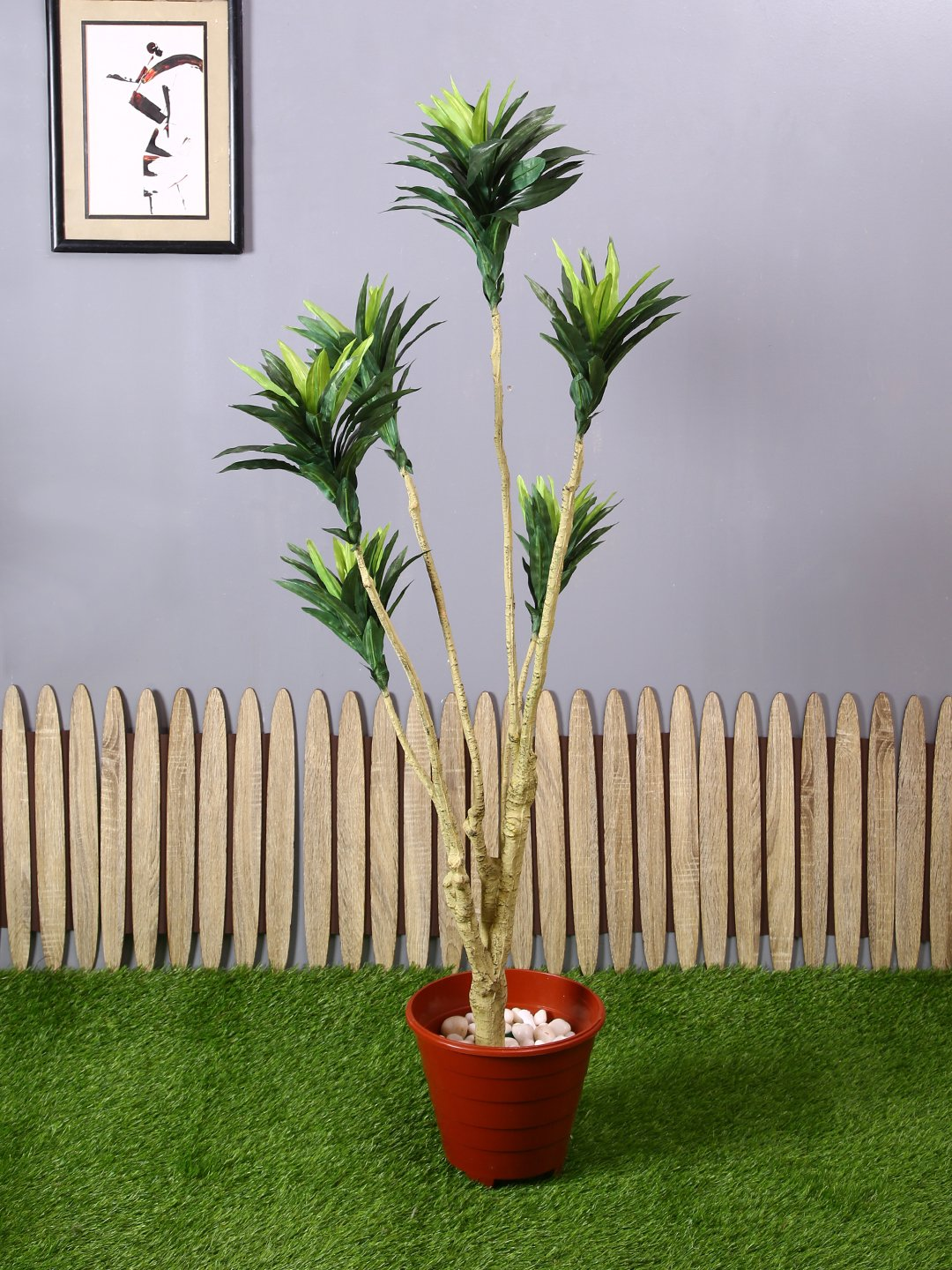 Artificial Draceana Plant Without Pot ( L 50 cm X 140 cm ) - Artificial Flowers & Plants - PolliNation