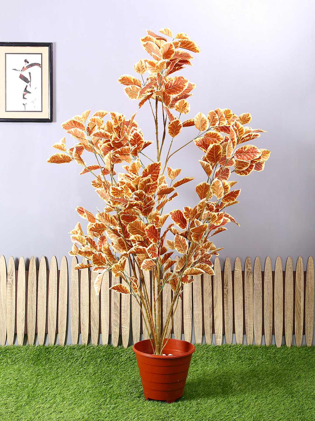 Artificial Plant Without Pot ( L 84 cm X H 153 cm )
