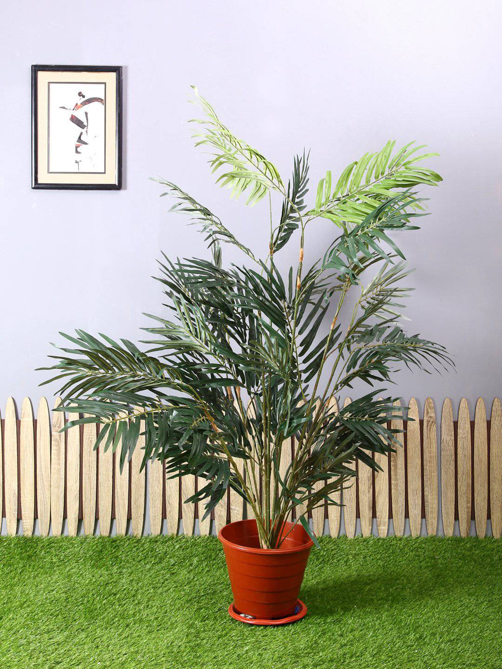 Artificial Robellini Palm Plant Without Pot