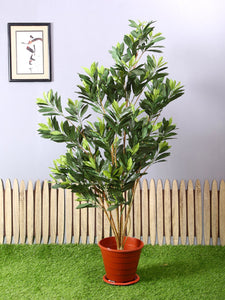 Artificial Croton Plant Without Pot for Home Decoration