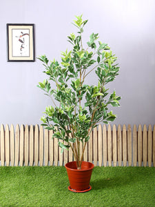 Artificial Hide Green Plant Without Pot ( L 90 cm X H 150 cm ) - Artificial Flowers & Plants - PolliNation