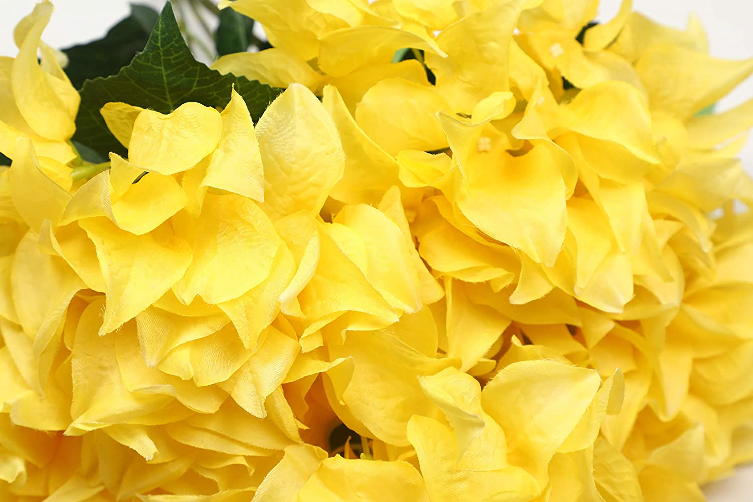 Pollination Beautiful Yellow Bougainvillea Artificial Flower Bunch for Home Decoration (Pack of 1, 19 INCH)