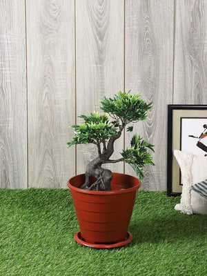 Artificial Maple Plant with Pot