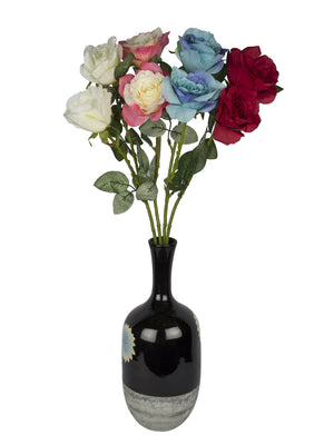 Enhancing Rose (30 inch, Pack of 3) - Artificial Flowers & Plants - PolliNation