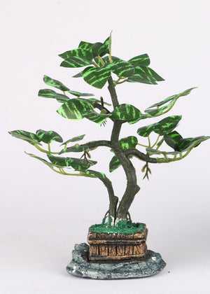 Random Artificial Plant Bonsai with Pot
