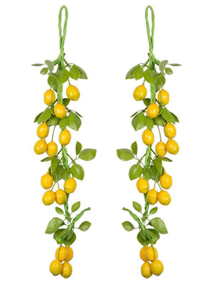 Hanging Vegetable Artificial Plant (38 cm) - Artificial Flowers & Plants - PolliNation