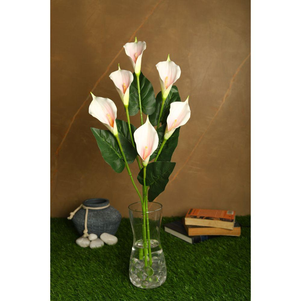 Pollination Real Touch Pink Callalily Artificial Flowers
