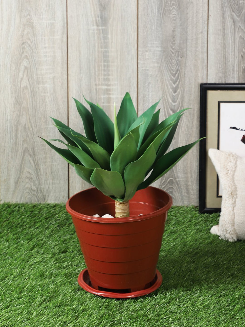 Artificial Plant Without Pot ( L 47 cm X H 45 cm ) - Artificial Flowers & Plants - PolliNation