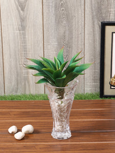Artificial Green Aloe Vera Plant Without Pot
