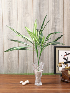 Pollination Real look  Stunning Green Dracaena Artificial Plant Without Pot