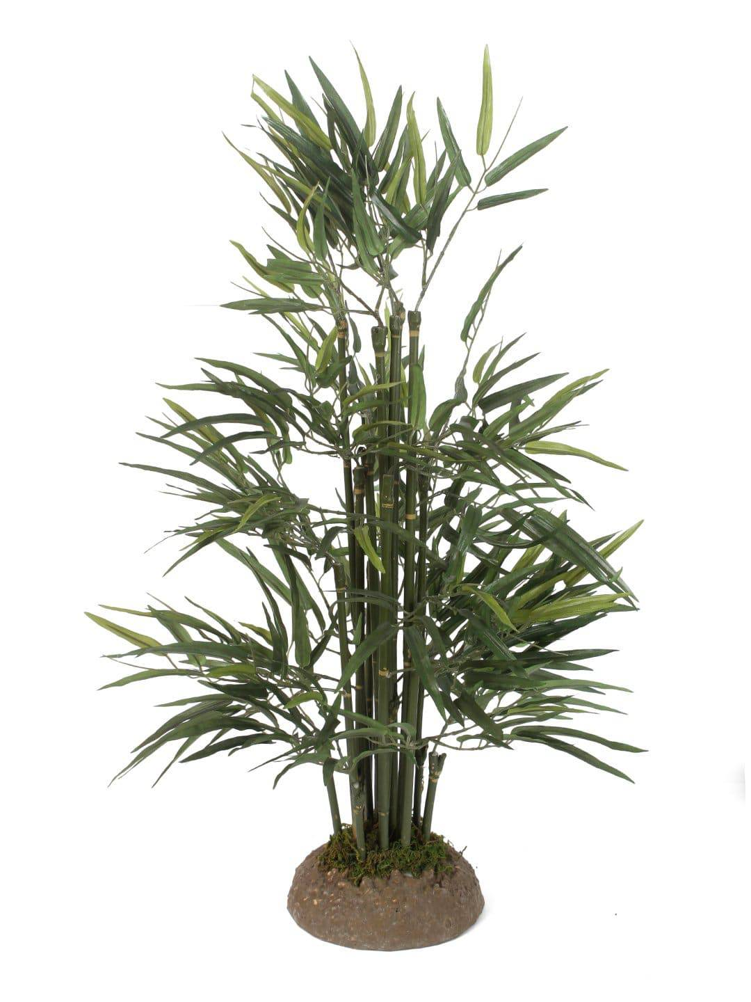 Pollination Artificial Bamboo Plant With Solid Silicone Base - Artificial Flowers & Plants - PolliNation