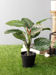 Artificial Plant with Plastic Pot - Artificial Flowers & Plants - PolliNation