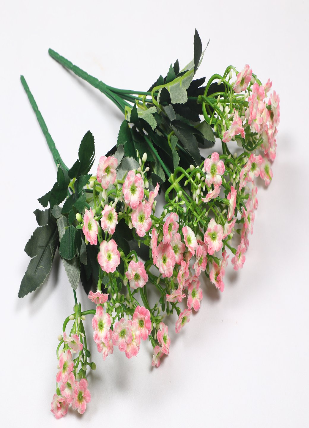 Dark Pink Artificial Flower Bunch Home, Office, Room, Restaurant, Hotel, Balcony, Kitchen, Garden Decor, Indoor (Pack of 2) - Artificial Flowers & Plants - PolliNation