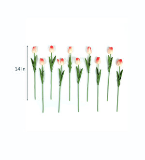 Artificial Flower Tulips (42 inch, Pack of 3) - Artificial Flowers & Plants - PolliNation