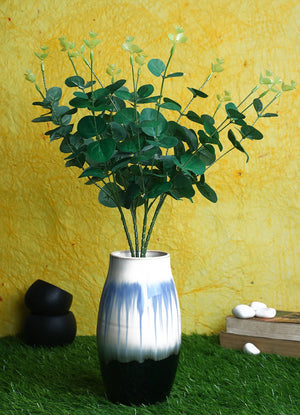 Pollination Eucalyptus Artificial Flower Bunch without Pot (Pack of 1) - Artificial Flowers & Plants - PolliNation