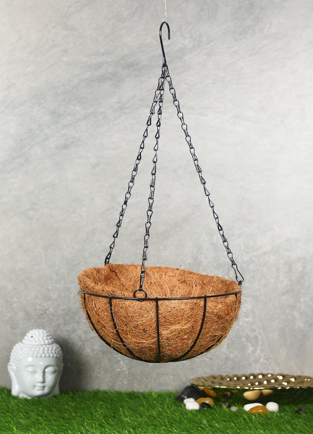 Polliantion Cane Planter with Hanging Metal Chain