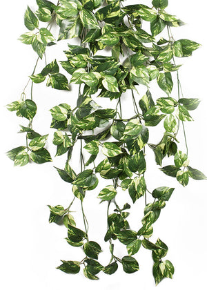 _ Artificial Pothos Bush Artificial Plant (133 cm, Green)
