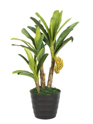 Banana Artificial Plant (50 cm) - Artificial Flowers & Plants - PolliNation