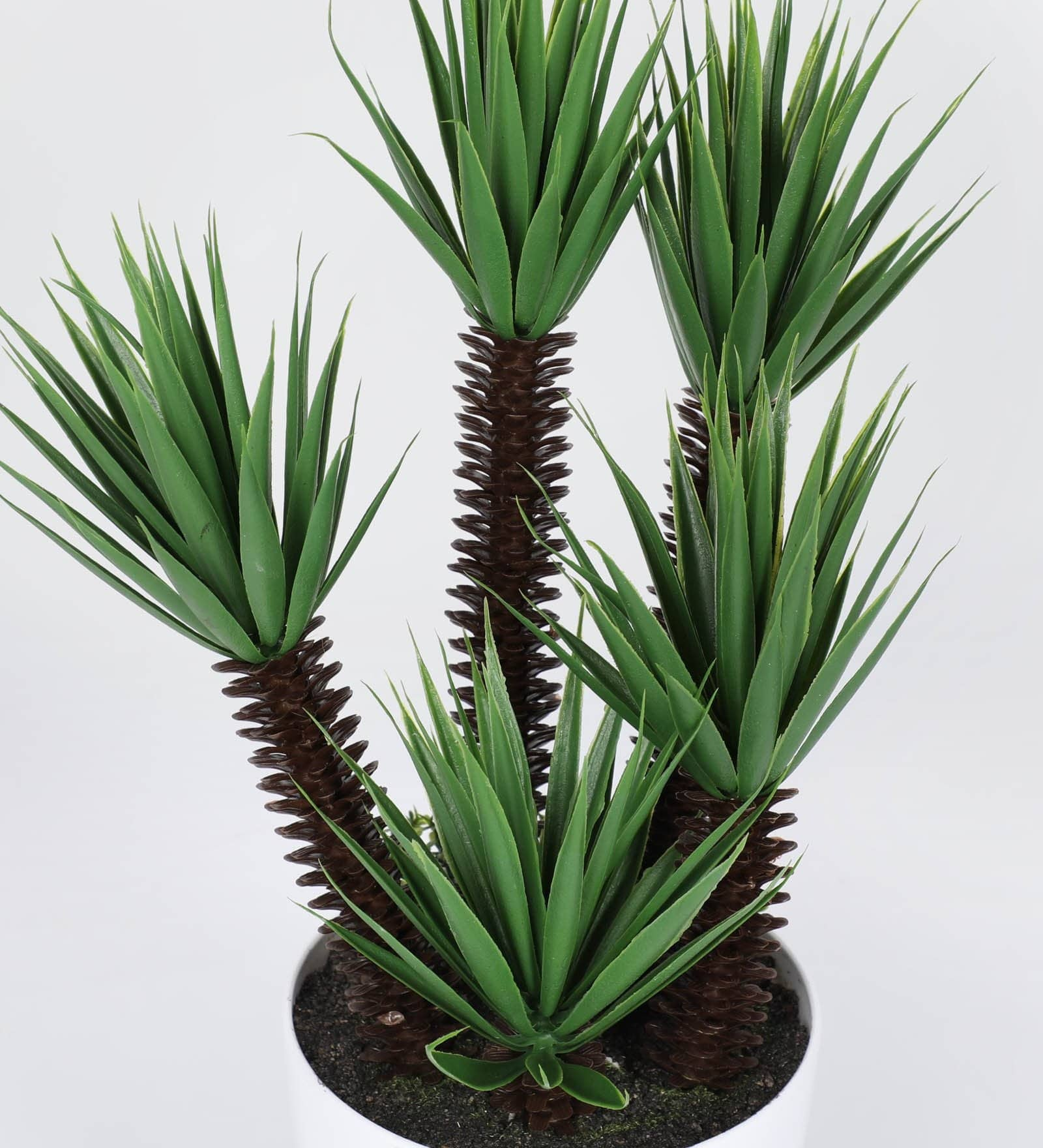 Artificial Palm Bonsai ( L 25 X H 44 cm ) - Artificial Flowers & Plants - PolliNation