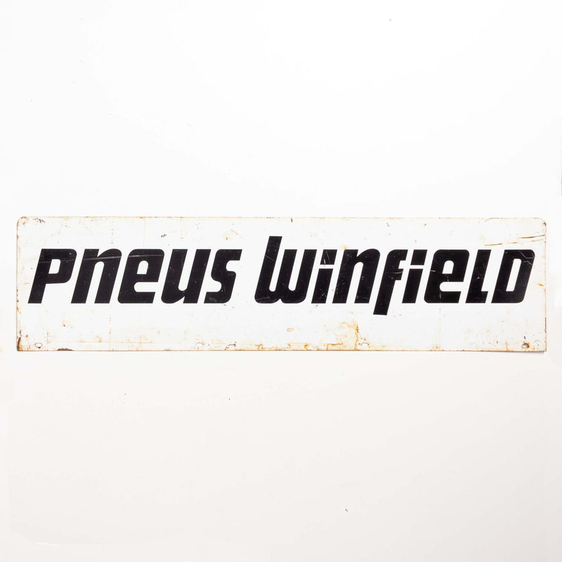 Db Sided Meta Sign Pneus Winfieldsingle Board