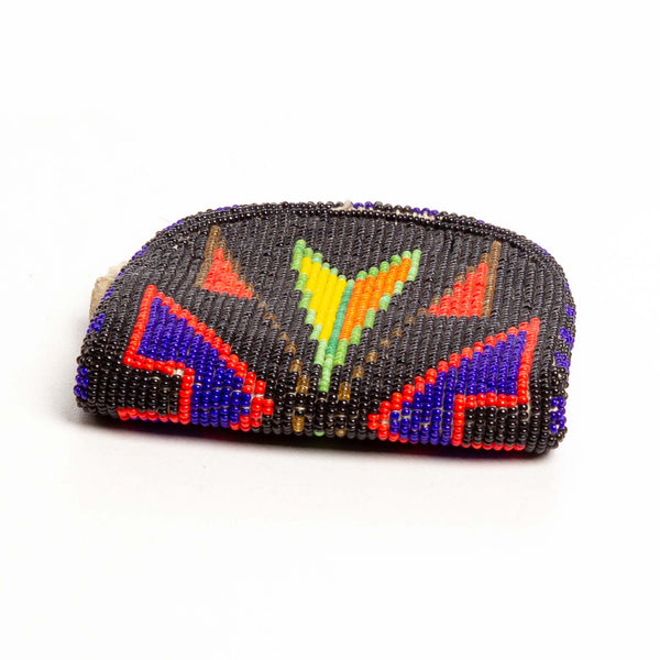 Assiniboine Beaded Pouch ca. 1960