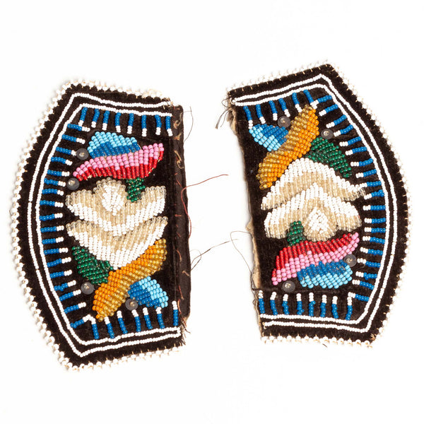Iroquois Pieces of Beadwork ca. 1920
