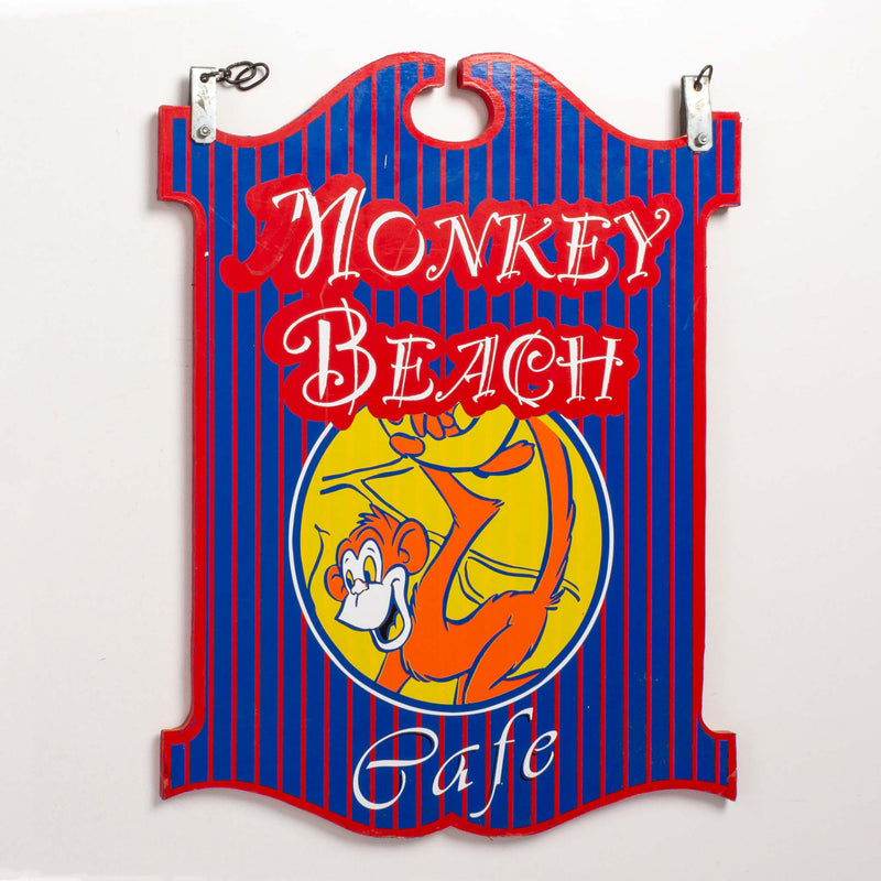 Monkey Beach Café Double Sided Sign