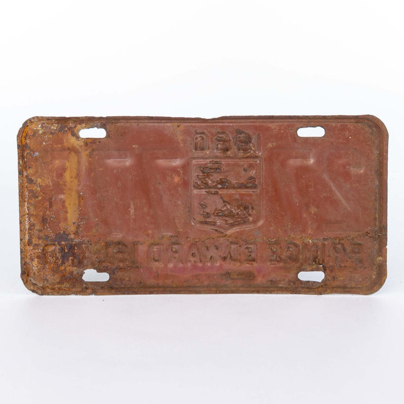 PEI License Plate 1960 A/F